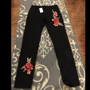 Final Rose Leggings